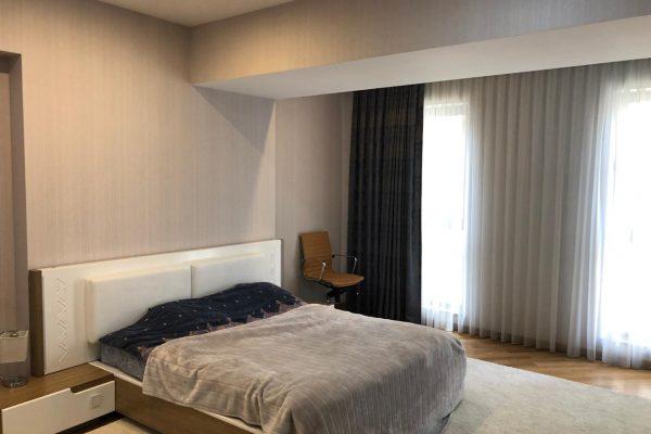 Apartment with 3 bedrooms in Port Baku complex