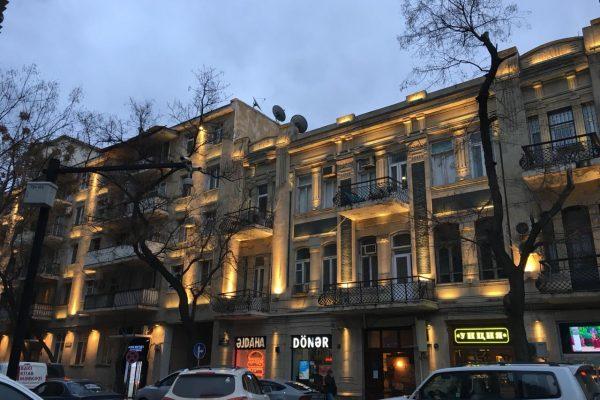 2к квартира посуточно в центре Баку